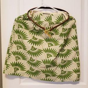NWT Tahari Embroidered Skirt/Belt size 4
